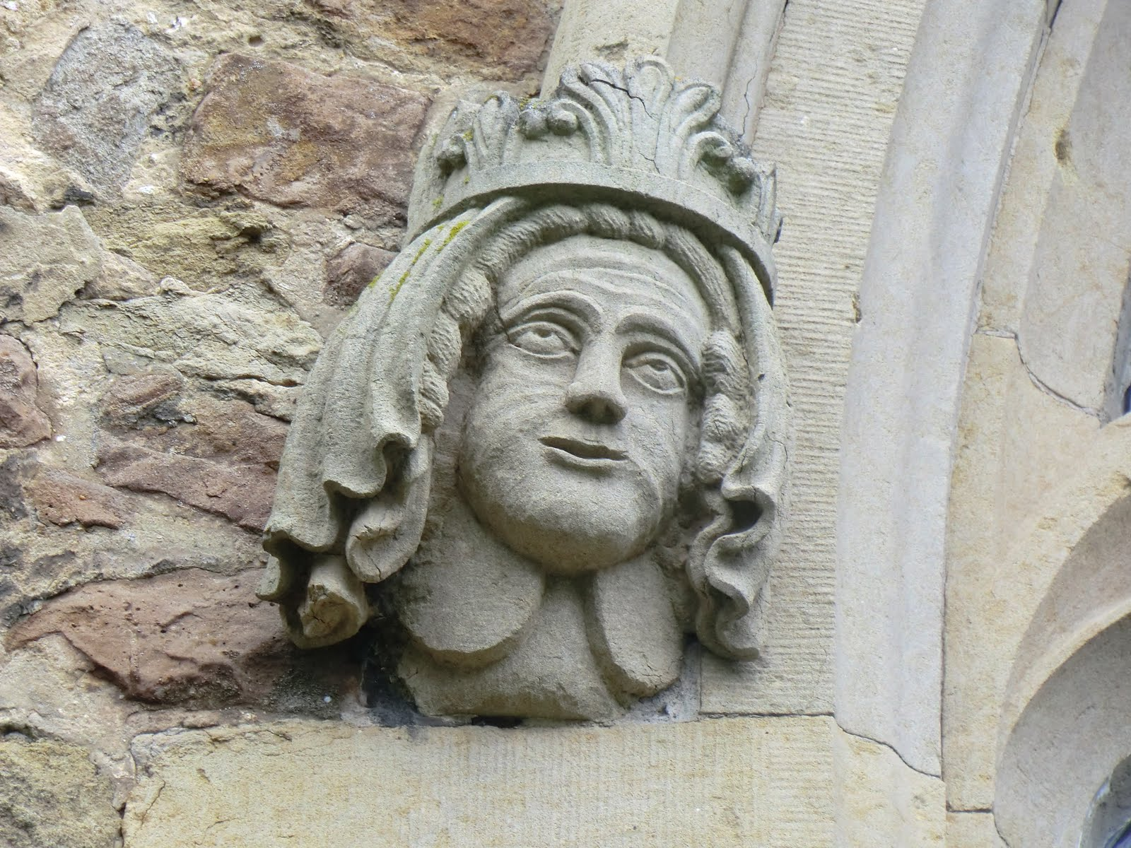 CIMG0332 Gargoyle, Westerham church