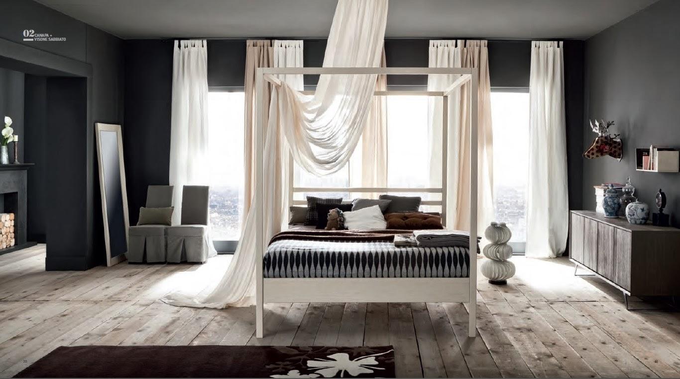 camera con letto con baldacchino in legno massello laccato o naturale (1).jpg