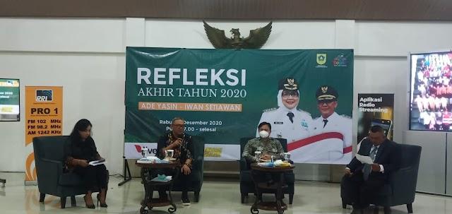 Dua Tahun Kepemimpinan Bupati Bogor Ade Yasin Dan Wakil Bupati Iwan Setiawan Raih Puluhan Penghargaan Hingga Satu Milliar Satu Desa