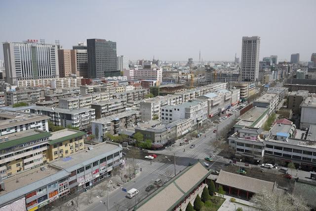 city view of Yinchuan, Ningxia