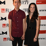 OIC - ENTSIMAGES.COM - Nathan Ambrosioni  and Luna Belan at the Film4 Frightfest on Monday   of  Hostile UK Film Premiere at the Vue West End in London on the 31st  August 2015. Photo Mobis Photos/OIC 0203 174 1069