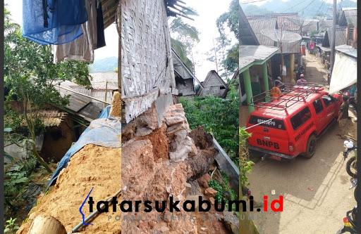 Warga 2 Kampung mengungsi akibat ancaman pergerakan tanah di Cisolok / Foto : Rudi Imelda (24/1/2019)