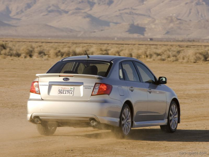 2008 subaru impreza wrx sti specifications pictures prices. Black Bedroom Furniture Sets. Home Design Ideas