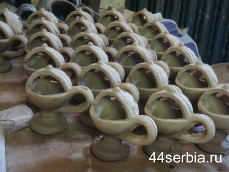 керамика: заготовки кадильниц