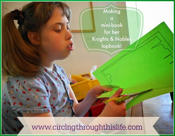 Making a Lapbook is just one of the many suggestions in the Once-a-Week Study Guide! ~ Read Tess's review at Circling Through This Life