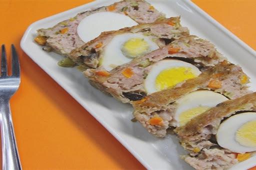 Trứng đúc thịt