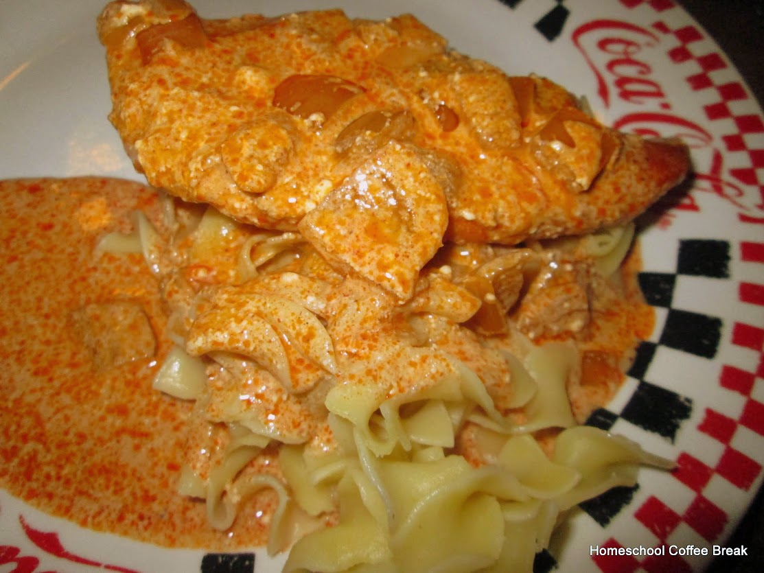 A Taste of Europe - Hungary (Chicken Paprika) on Homeschool Coffee Break @ kympossibleblog.blogspot.com