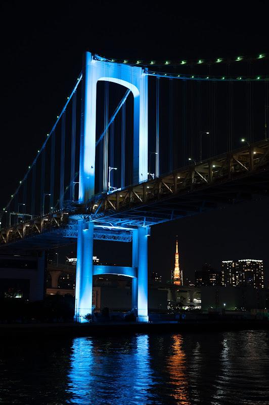 201031 レインボーブリッジと東京タワー