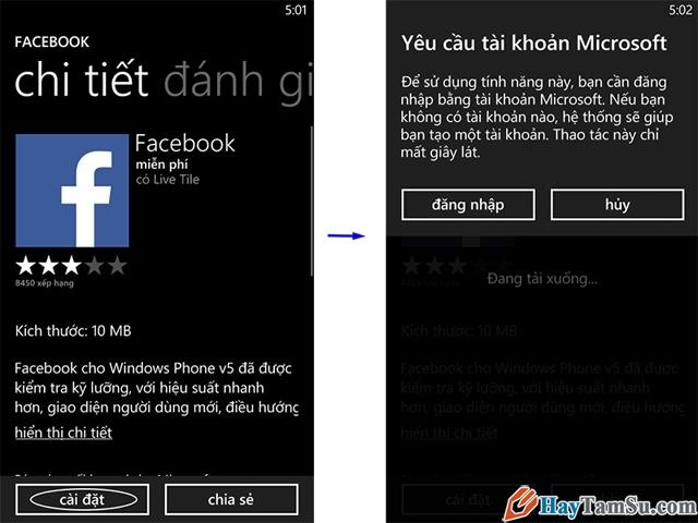 Cài đặt game cho điện thoại windows phone
