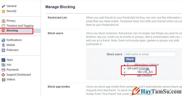 mở khóa facebook người khác