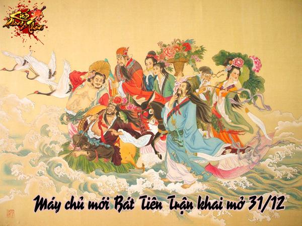 Kiếp Phong Thần tặng 500 Bát Tiên Đại Lễ Bao 2