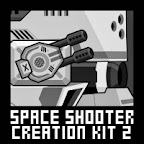 Space Shooter Game Sprite Sheet