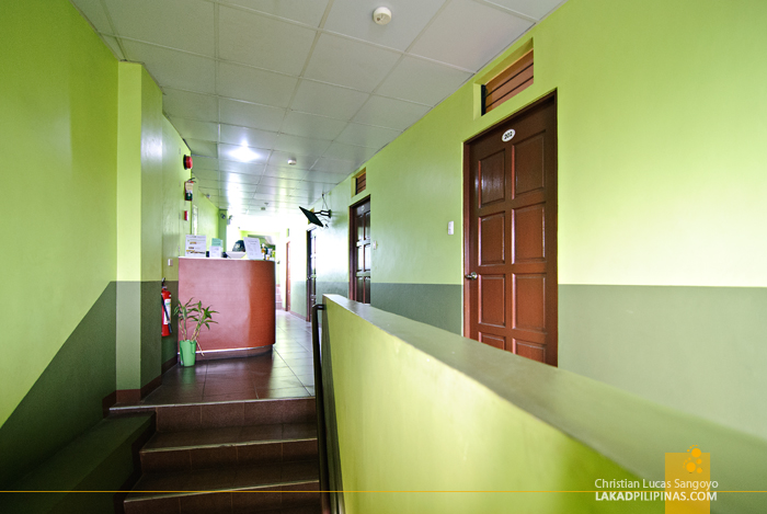 Cool Green Interiors at Tagaytay's D-Zone Backpacker's Inn