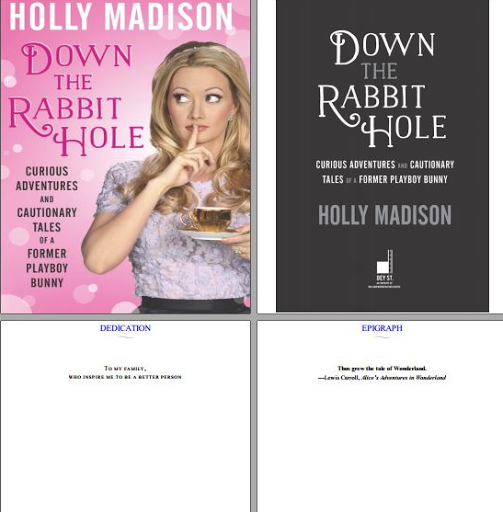 Down The Rabbit Hole  Holly Madison pdf