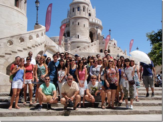 grupo-de-turista - Tripto Budapest