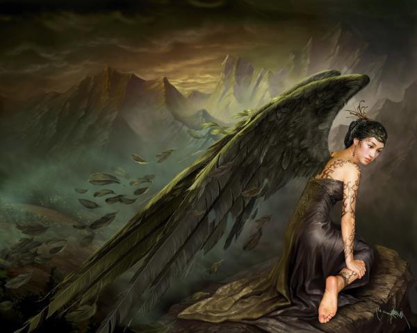 Fine Angel Baby, Gothic Angels