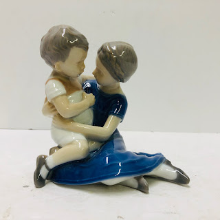 Bing & Grøndahl Vintage Mother & Child Figurine