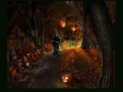 Halloween Funeral Death, Death