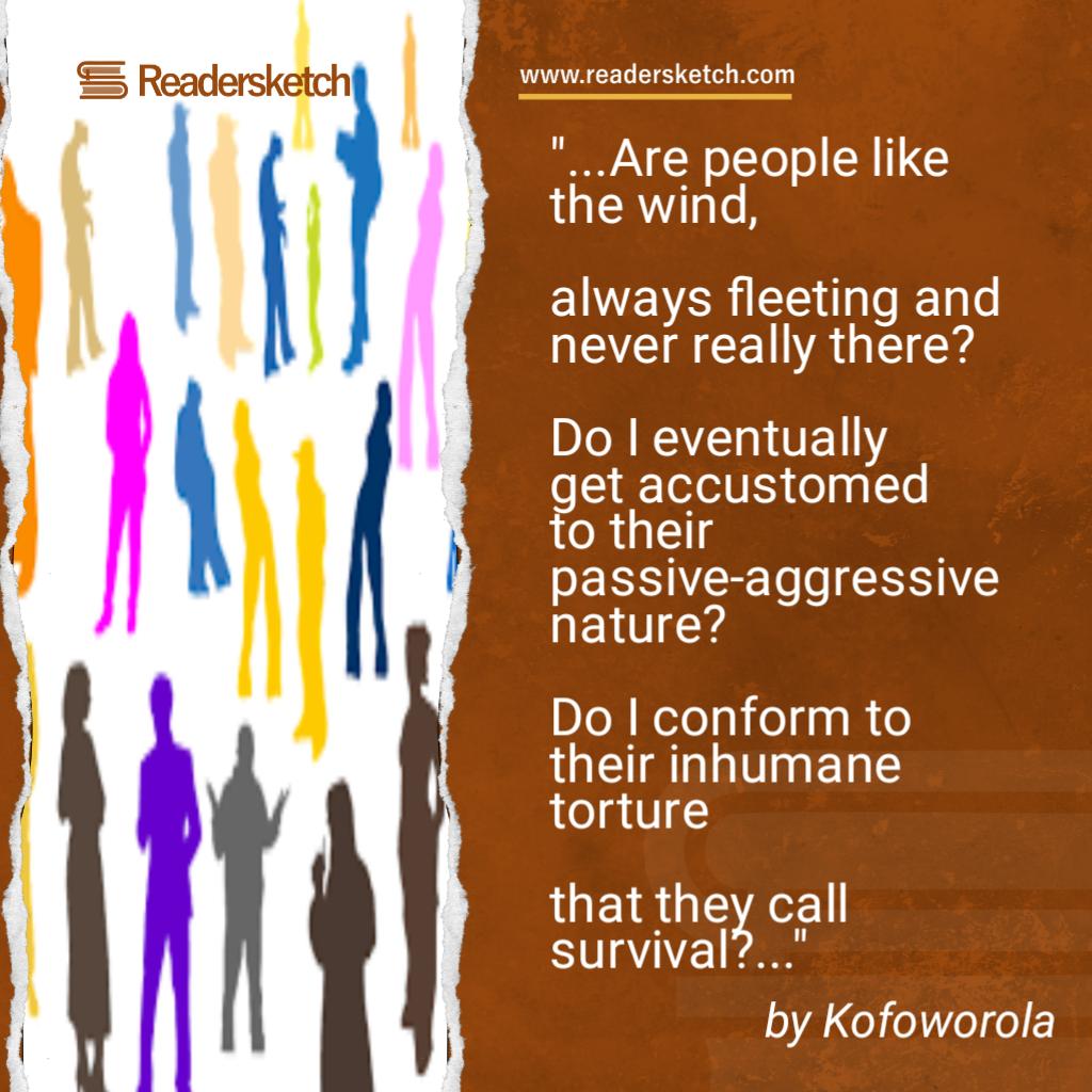 people's problem, people Problems, people problem poem, people problem Readersketch by Kofoworola, people problem by Kofoworola, poem by Kofoworola.