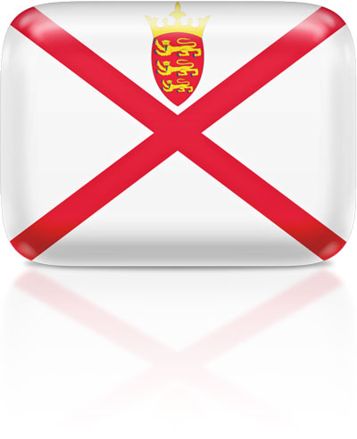 Channel Island flag clipart rectangular