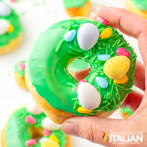 Air Fried Easter Donuts
