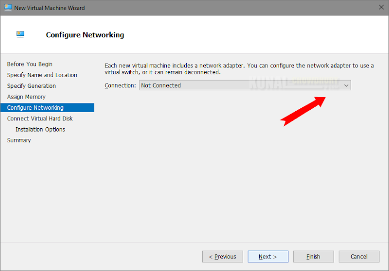 Configure the networking of your VM (www.kunal-chowdhury.com)