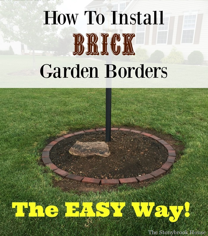 How To Install Brick Borders