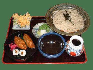 稲荷門前そば(冷)
