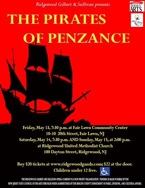 Pirates promotional flyer