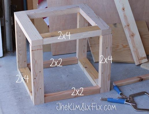 Scrap lumber box