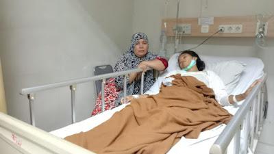 Breaking News : Maryamah , Risma Lagi Sakit, Sang Suami Diminta Tanggungjawab