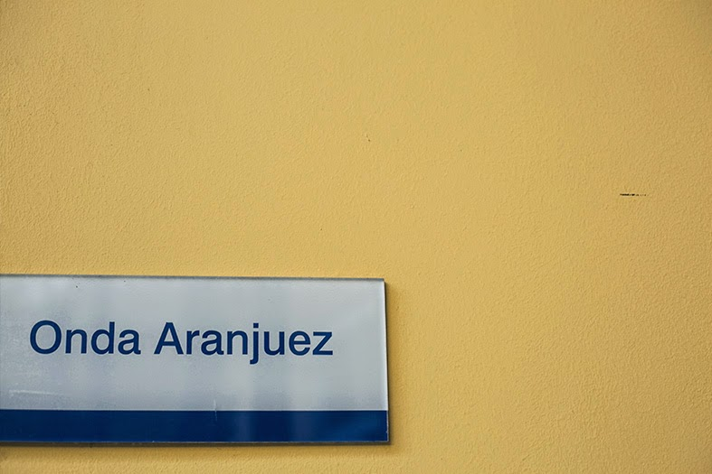Cartel Onda Aranjuez.