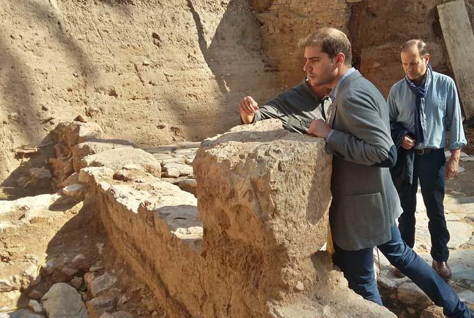 Ricardo Segado invita a Hispania Nostra para mostrales la realidad del patrimonio local castigada por la CARM