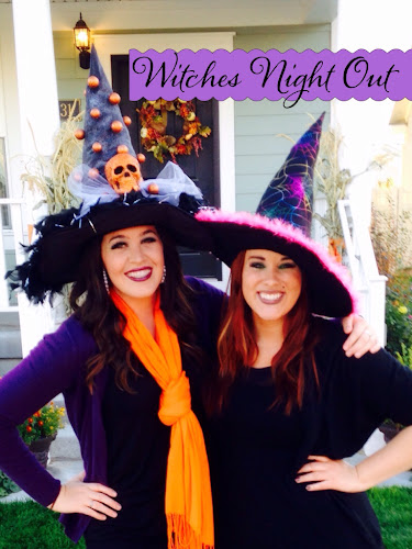 Witch hat makeover, witch hat DIY, witches night out south Jordan