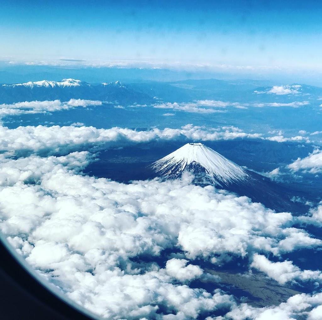 2016年12月:JAL915(JL915) 東京・羽田=沖縄・那覇でみた富士山