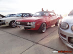 Red Toyota Celica LT