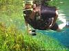 Passeio de flutuação no aquário natural em Bonito