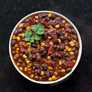 Easy Vegetarian Chili.
