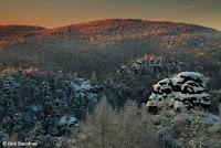 Winterimpression in der Jonsdorfer Felsenstadt (http://www.Naturfoto-Steudner.de)
