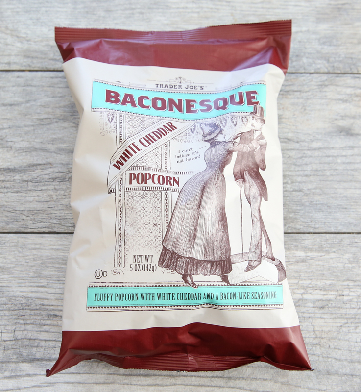bag of Baconesque White Cheddar Popcorn