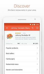 Jumia Food: Order meals online - náhled
