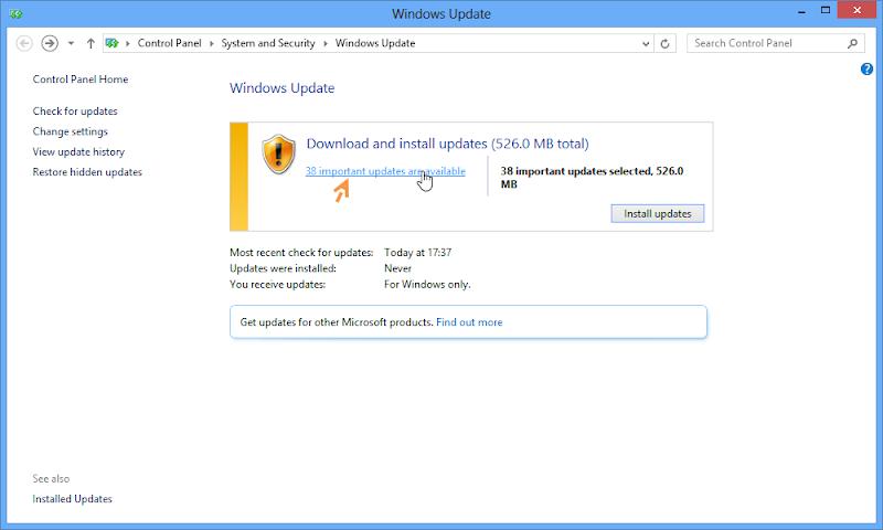 ป้องกันการ Deactivate ใน Windows 8 ด้วยการปรับแต่งการอัพเดตของวินโดวส์ W8upset04