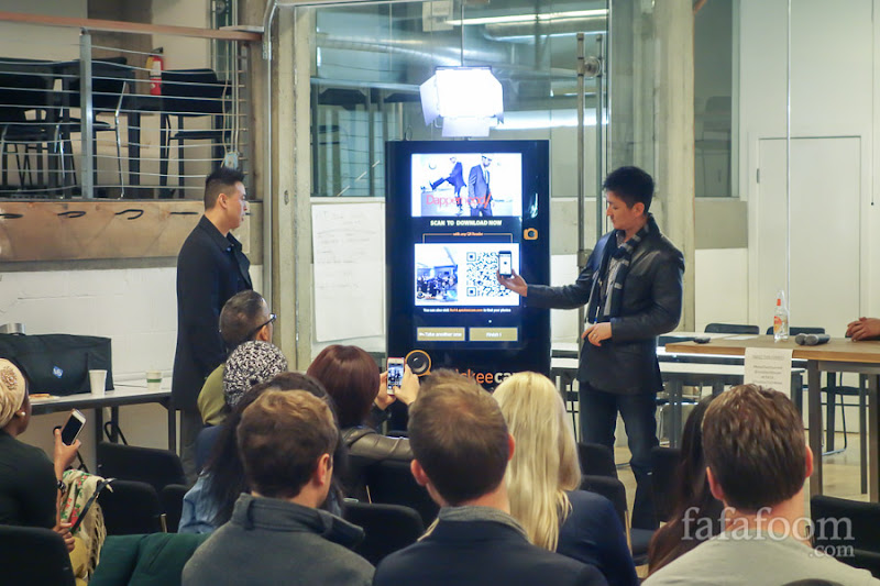 Quickeecam founders Eric Lau (left) and Phil Wang
