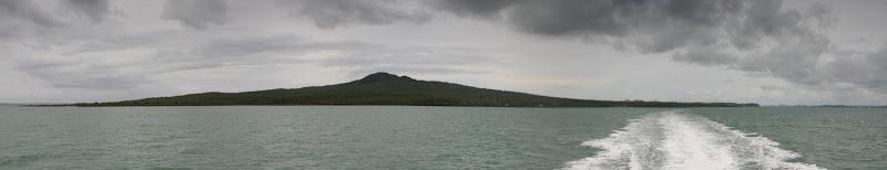 Rangitoto Island panorama