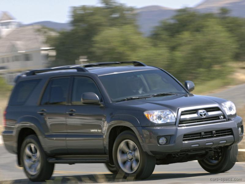 2007 toyota 4runner suv specifications pictures prices. Black Bedroom Furniture Sets. Home Design Ideas