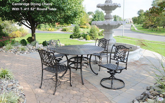 Garden Furniture Nj cambridge patio table set - dwl patio furniture - nj wholesale