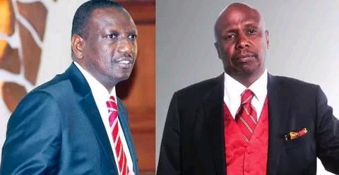 Deputy President William Samoei Ruto raid Senator Gideon Moi's