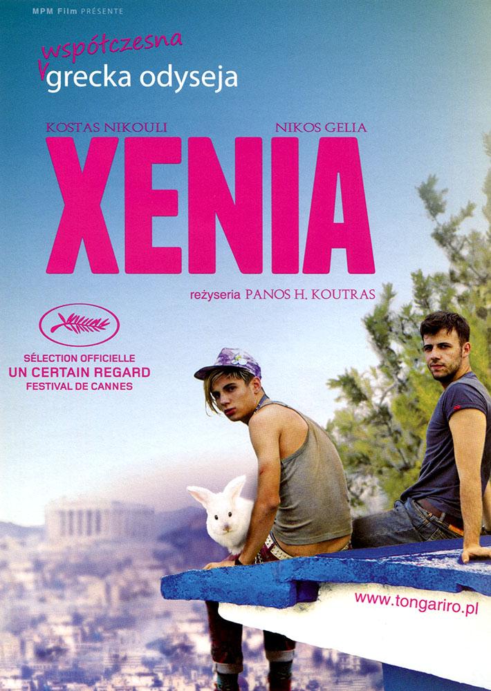 Ulotka filmu 'Xenia (przód)'