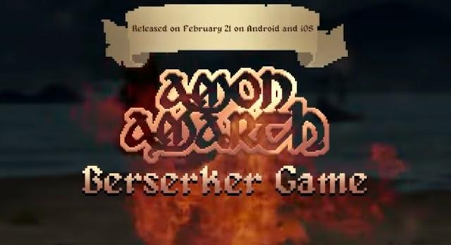 Amon Amarth lançam novo jogo