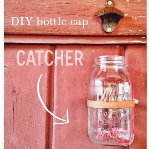 Pink Calaveras Diy Bottle Cap Catcher